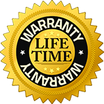 Lifetime Warranty Badge