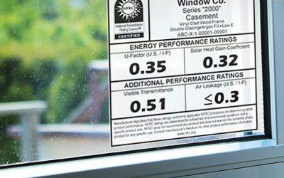 Understanding Window Energy Performance Labels