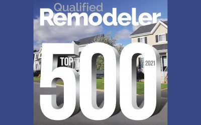HomeRite Named to Qualified Remodeler's TOP 500 for 2021